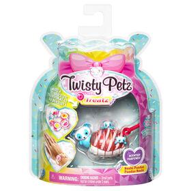 Twisty Petz Treatz, Bracelet Pandas Sushi parfumé empilable à collectionner