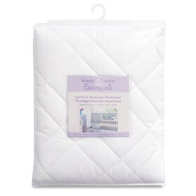 Koala Baby - Quilted Waterproof Polycotton Mattress Protector - White