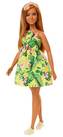 Barbie Fashionistas Doll #126 - Jungle Dress