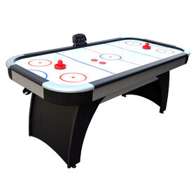 Silverstreak 6-Foot Air Hockey Game Table with Electronic Scoring