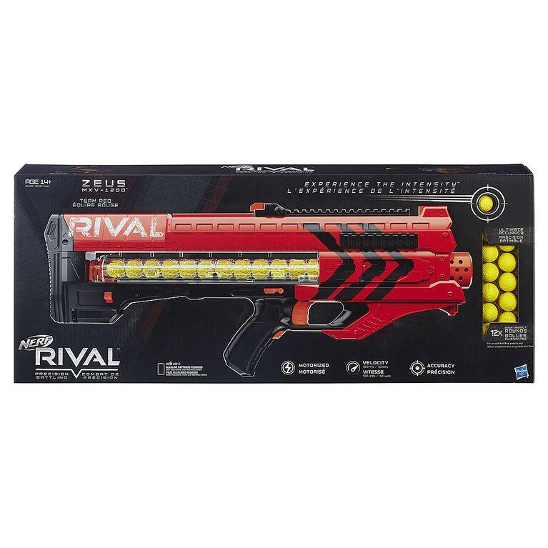 NERF Rival Foudroyeur Zeus MXV-1200 - Rouge.