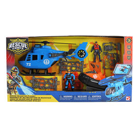 Rescue Force Helicopter Playset - R Exclusive