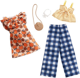 Barbie Fashions Fruit Gingham 2-Pack
