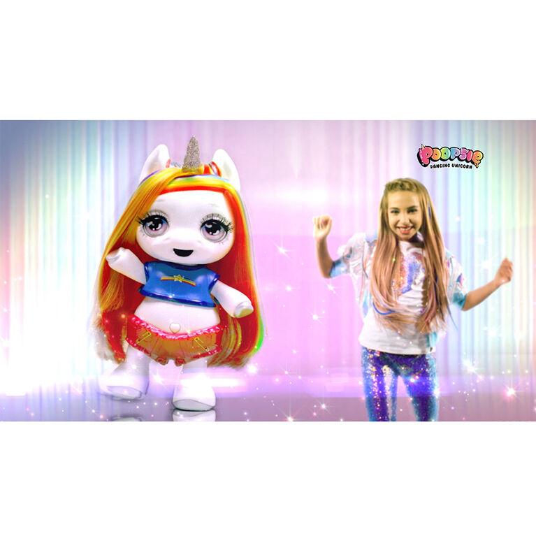 Poopsie Dancing Unicorn Rainbow Brightstar - Dancing and Singing Unicorn Doll (Battery-Powered Robotic Toy)