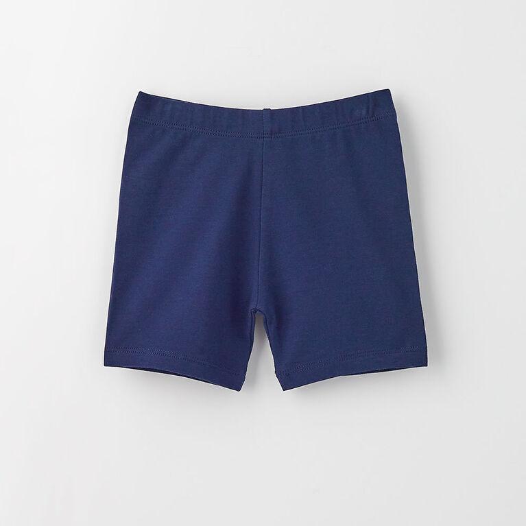 2-3 ans shorts extensibles - marine