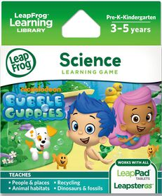 LeapFrog - Explorer Learning Game: Nickelodeon Bubble Guppies English Edition