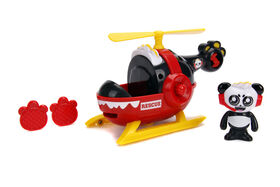 Ryan's World 6 Rescue Helicopter with Combo Panda
