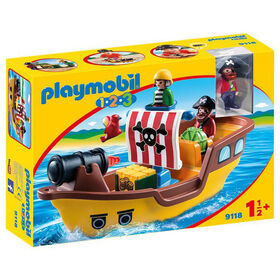 Playmobil 1.2.3. - Pirate Ship