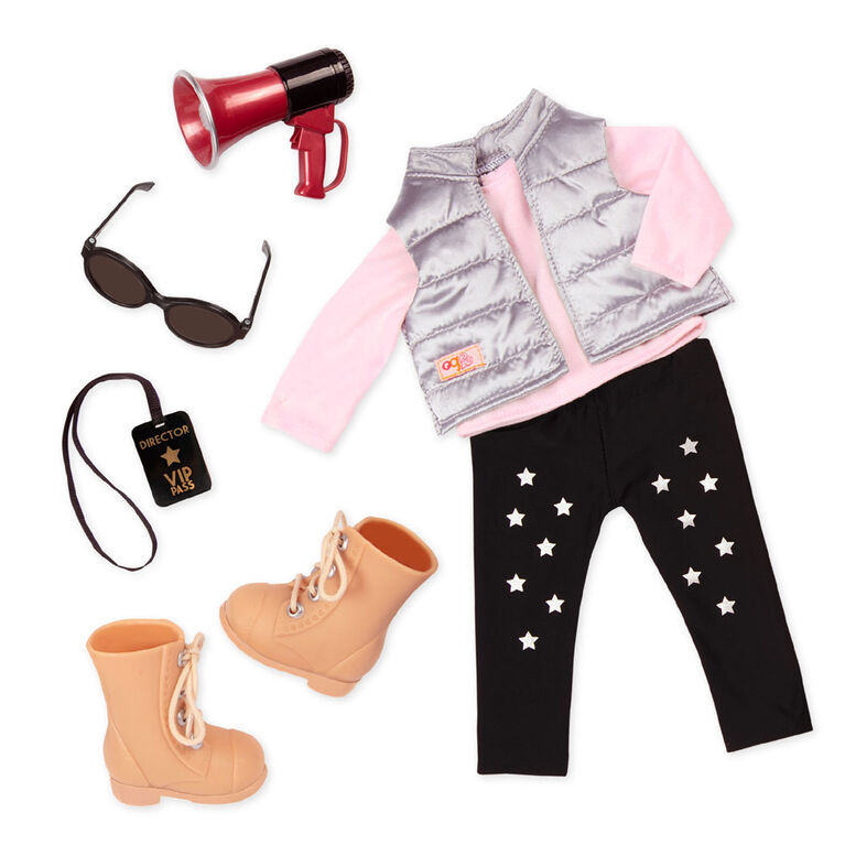 Our Generation, Director's Cut, Movie Director Outfit for 18-inch Dolls