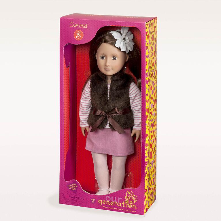 Our Generation, Sienna, 18-inch Fashion Doll