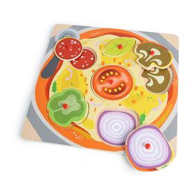 Imaginarium Discovery - 6 Piece Peg Puzzle Assortment - Pizza