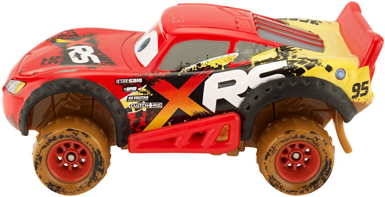Disney/Pixar Cars XRS Mud Racing Lightning McQueen Vehicle - English Edition