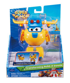 Super Wings - Transforming Construction Donnie - English Edition