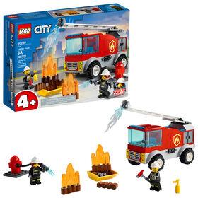LEGO City Fire Le camion des pompiers avec échelle 60280