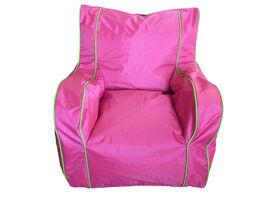 Boscoman - Cody Large Lounger Chair Bean Bag - Camellia Rose
