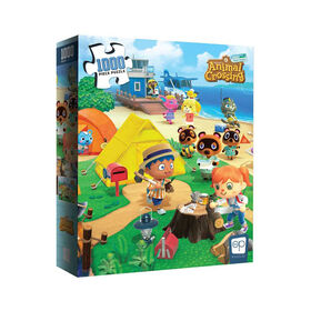 """Animal Crossing """"Welcome to Animal Crossing"""" 1000 Piece Puzzle - English Edition"""