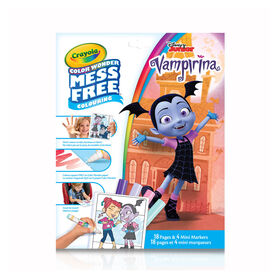 Crayola Mess-Free Color Wonder Pages & Mini Markers, Vampirina