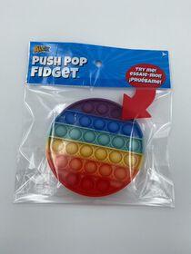 Push Pop Fidget - Cercle arc-en-ciel
