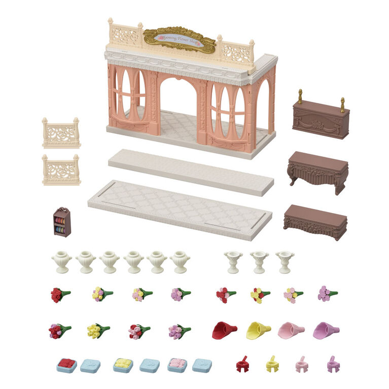 Calico Critters Blooming Flower Shop