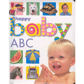 Baby Soft-To-Touch Books - Happy Baby ABC - Édition anglaise