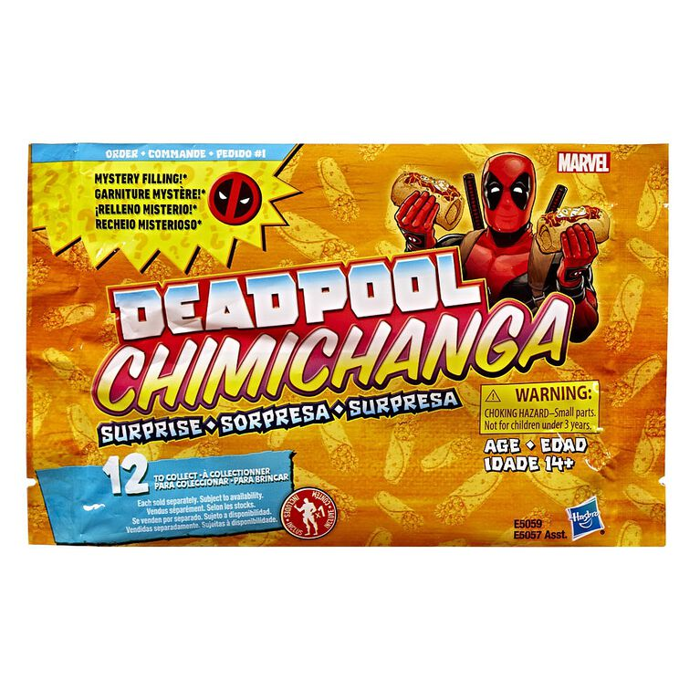 Marvel Deadpool Chimichanga Surprise with Mystery Filling (Order 1)