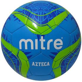 Mitre #4 Azteca Soccer ball - Blue