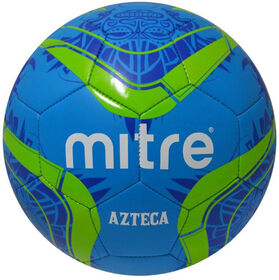 Mitre #5 Azteca Soccer ball - Blue