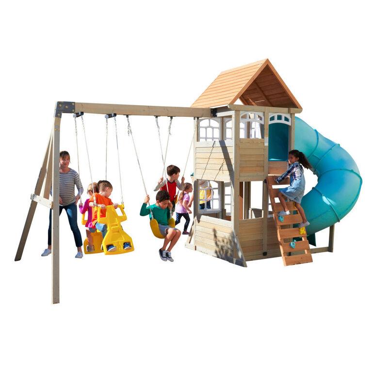 KidKraft - Montauk Wooden Swing Set / Playset - R Exclusive