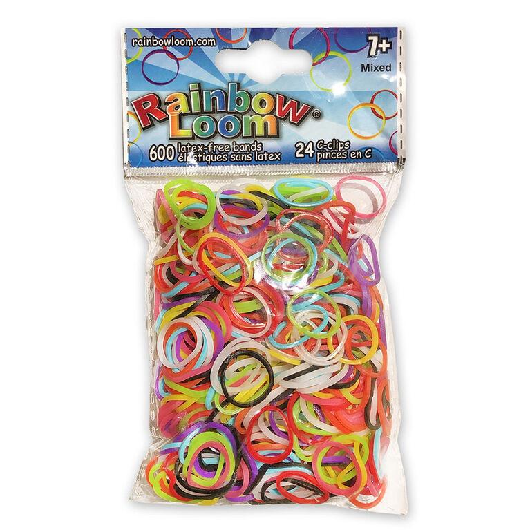 Rainbow Loom - Élastiques divers
