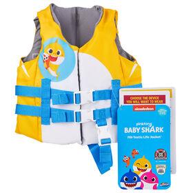Swimways Pink Fong Baby Shark Pfd Life Jacket - Enfant