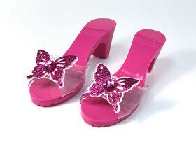 Souliers scintillants avec papillon - R Exclusif
