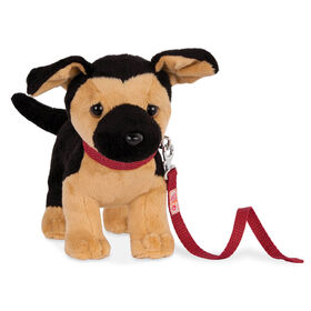 Our Generation, German Shepherd Pup, Pet Dog Plush with Posable Legs