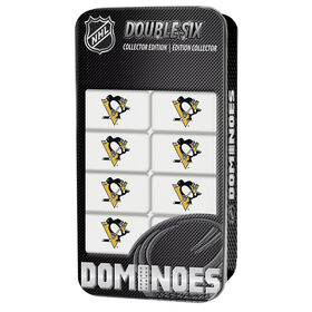 Pittsburgh Penguins Double-Six Dominoes