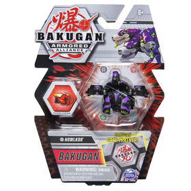 Bakugan, Howlkor, 2-inch Tall Armored Alliance Collectible Action Figure and Trading Card