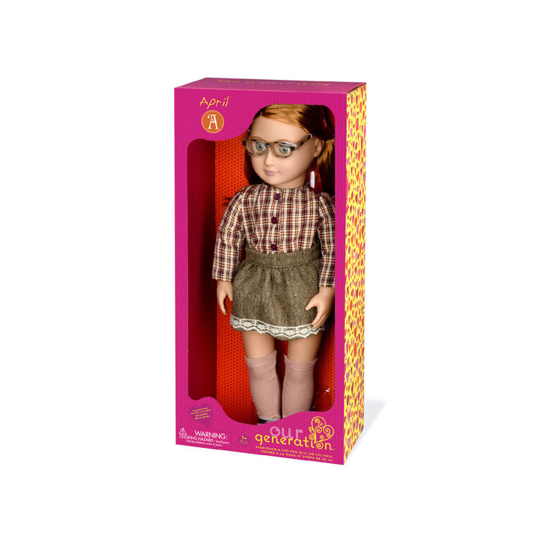 Our Generation, April, 18-inch Fashion Doll