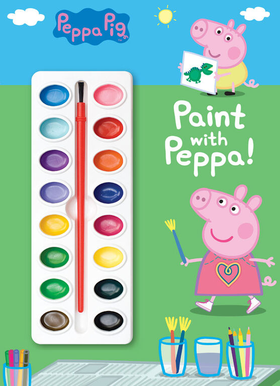 Paint with Peppa! (Peppa Pig) - Édition anglaise