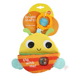 Bright Starts Beautiful Bugs Soft Activity Book
