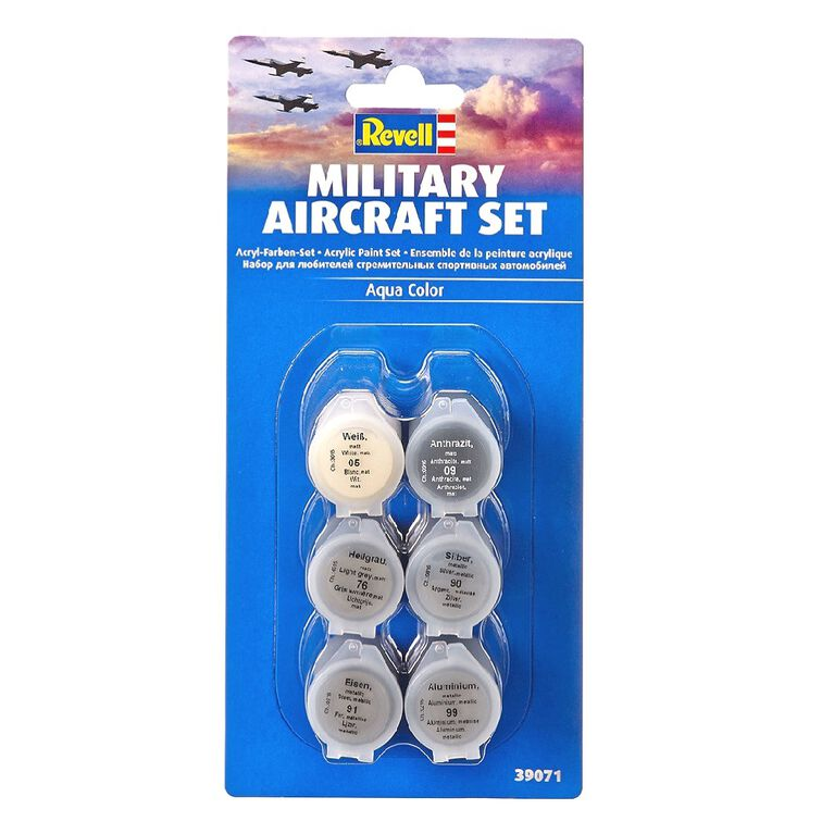 Revell Military Aircraft Set (1/36) - Model