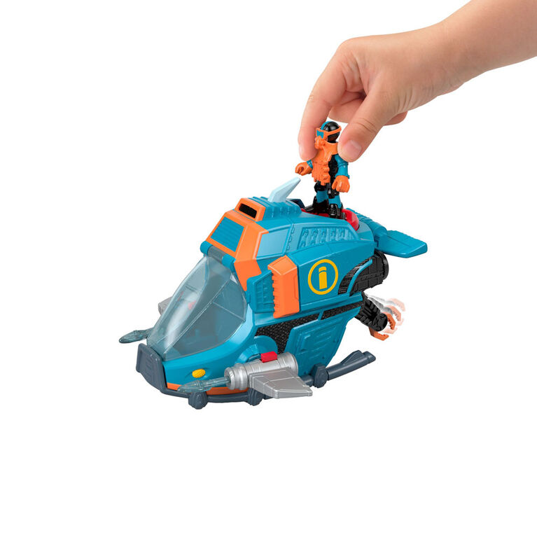 Fisher-Price Imaginext Deep Sea Shark Sub