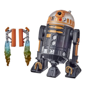 Star Wars Droid Depot Astromech Droid Star Wars Galaxy's Edge Collectible 3.75-Inch Scale R2 Unit Action Figure - R Exclusive
