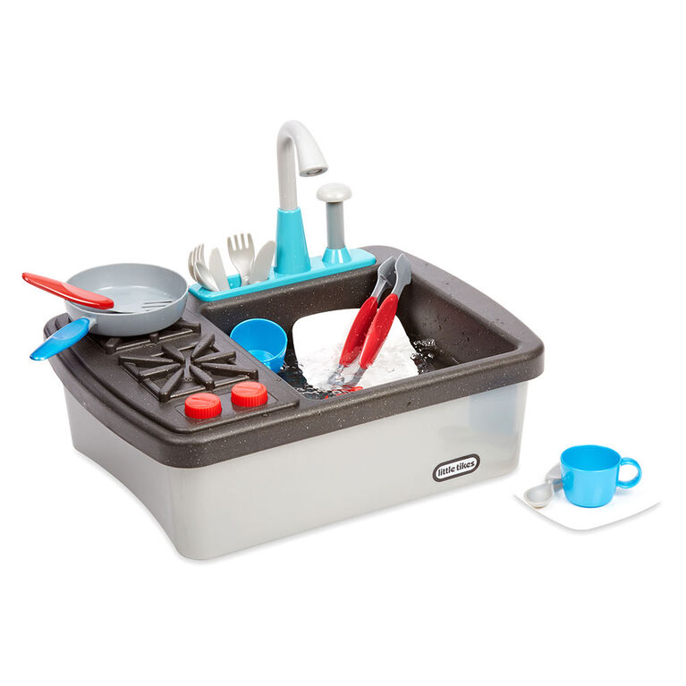 Little Tikes First Sink & Stove Realistic Pretend Play Appliance for Kids