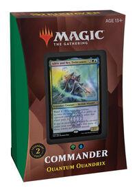 """Magic the Gathering """"Strixhaven: School of Mages"""" Commander Deck-Quantum Quandrix - English Edition"""