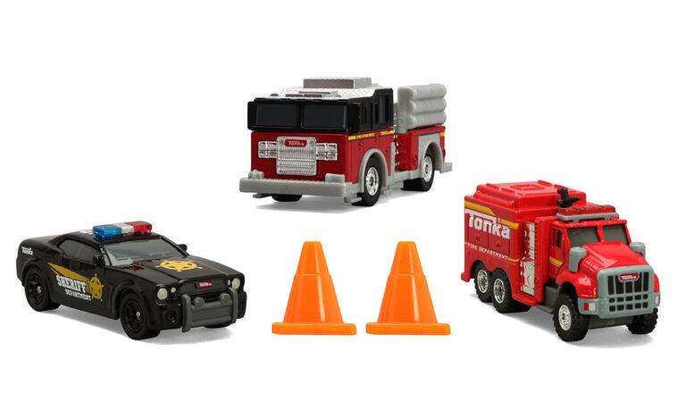 Tonka Diecast Emergency 3 Pack