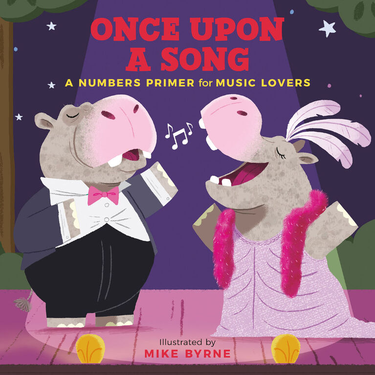 Hachette Book Group - Once Upon a Song: A Numbers Primer for Music Lovers  - Édition anglaise