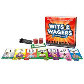 Wits and Wagers Party Game.