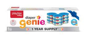 Playtex Diaper Genie Refills - 1 Year Supply - 9 Pack