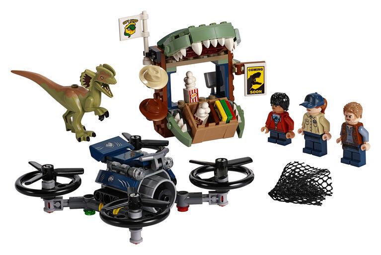 LEGO Jurassic World Dilophosaure en liberté 75934