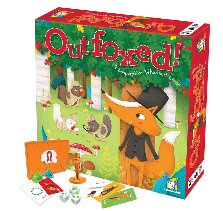 Gamewright - Outfoxed! Game