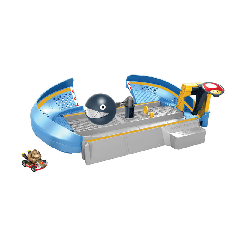 Hot Wheels Mariokart Chain Chomp Track Set