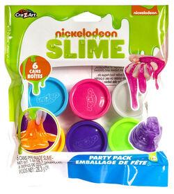 Nickelodeon FÊTE DE SLIME Pack - 6 couleurs